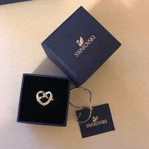 Swarovski Lovely  Heart Ring
